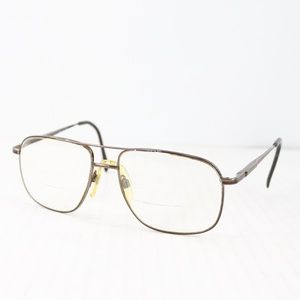 Vtg Sergio Tacchini Square Frame Style Glasses